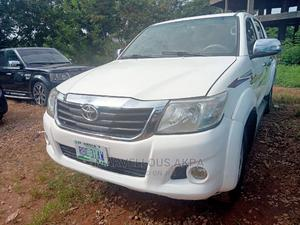 Toyota Hilux 2012 2.7 VVT-i 4X4 SRX White | Cars for sale in Abuja (FCT) State, Central Business Dis