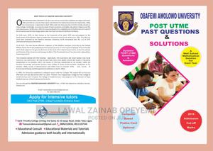 Fully Updated Obafemi Awolowo Post UTME Past Questions | Child Care & Education Services for sale in Lagos State, Yaba