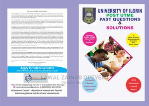 Fully Updated Unilorin Past Questions and Answers | Child Care & Education Services for sale in Lagos State, Yaba