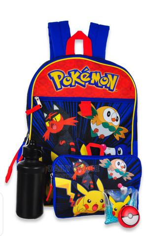Pokemon 5 in 1 School Backpack | Bags for sale in Lagos State, Ikeja
