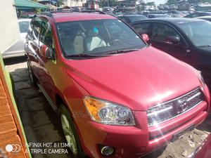 Toyota RAV4 2009 Limited V6 4x4 Red | Cars for sale in Lagos State, Apapa