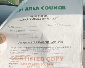 Right of Ownership | Land & Plots For Sale for sale in Bwari, Bwari / Bwari
