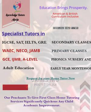 Private Home Tutors.   Child Care & Education Services for sale in Abuja (FCT) State, Gwarinpa