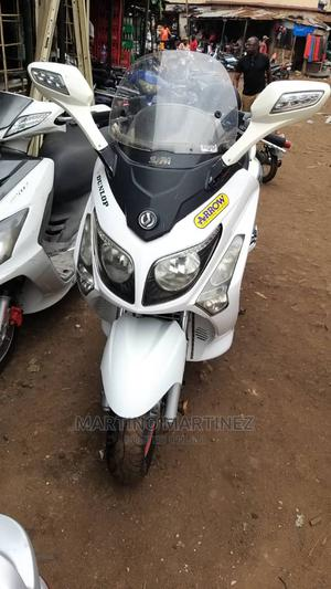 SYM Hd 300 2015 White | Motorcycles & Scooters for sale in Delta State, Ndokwa West