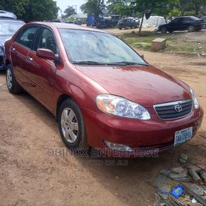 Toyota Corolla 2006 LE Red   Cars for sale in Abuja (FCT) State, Gudu