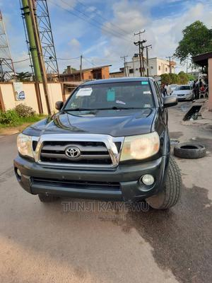 Toyota Tacoma 2009 Double Cab V6 Automatic Green   Cars for sale in Lagos State, Surulere