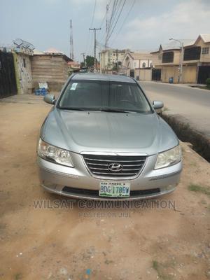 Hyundai Sonata 2009 2.4 GLS Automatic Silver | Cars for sale in Lagos State, Gbagada