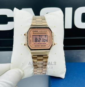 Casio Rosegold Digital Vintage Watch | Watches for sale in Lagos State, Agboyi/Ketu