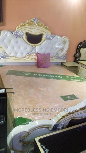Unique Set of Royal Bed, Wardrobe and Console Mirror   Furniture for sale in Abuja (FCT) State, Wuse