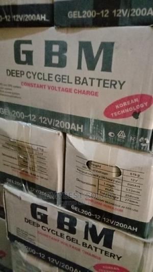 12v 200ahs GBM Solar Battery   Solar Energy for sale in Lagos State, Ojo
