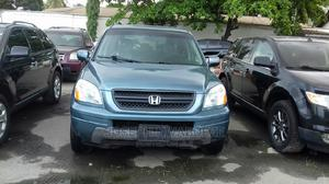 Honda Pilot 2005 EX-L 4x4 (3.5L 6cyl 5A) Blue | Cars for sale in Lagos State, Amuwo-Odofin