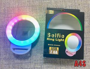 Mini Clip-on Smartphone Selfie Ring Light For Phones Tablets | Accessories for Mobile Phones & Tablets for sale in Imo State, Owerri