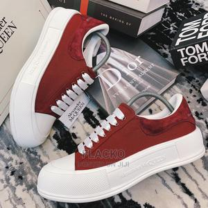 Original Alexander McQueen Plimsoll Red Sneakers Available   Shoes for sale in Lagos State, Surulere
