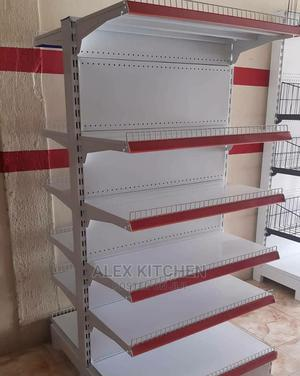 Double Face Supermarket Shelf | Restaurant & Catering Equipment for sale in Lagos State, Ojo