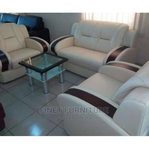 Royal 7 Seaters Leather Sofa Chair | Furniture for sale in Lagos State, Mushin