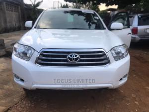 Toyota Highlander 2008 White | Cars for sale in Lagos State, Isolo