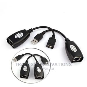 USB RJ45 Extension Adapter Up to 150 Ft Length | Accessories & Supplies for Electronics for sale in Lagos State, Yaba
