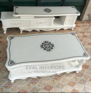 Royal Wooden Glass Top TV Stand   Furniture for sale in Lagos State, Lekki