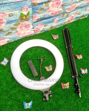 18 Inches Ringlight With Tripod Stand and Remote | Accessories for Mobile Phones & Tablets for sale in Rivers State, Port-Harcourt