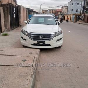 Honda Accord CrossTour 2012 EX White | Cars for sale in Lagos State, Surulere