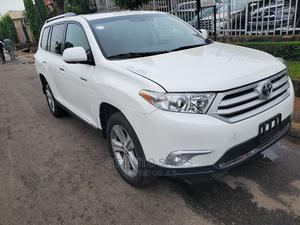 Toyota Highlander 2013 3.5L 4WD White   Cars for sale in Lagos State, Ikeja