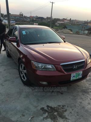 Hyundai Sonata 2005 Red | Cars for sale in Lagos State, Ikorodu