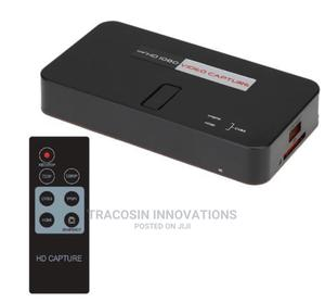 EZCAP284 1080P Hdmi-Com Game HD Video Capture Box Grabber | Accessories & Supplies for Electronics for sale in Lagos State, Yaba