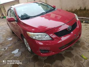 Toyota Corolla 2008 Verso 1.8 VVT-i Automatic Red | Cars for sale in Lagos State, Alimosho