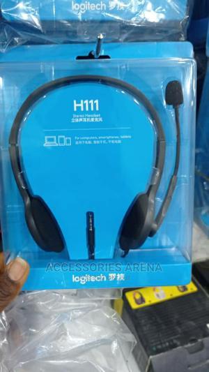 Logitech H111 Headset | Headphones for sale in Lagos State, Ikeja