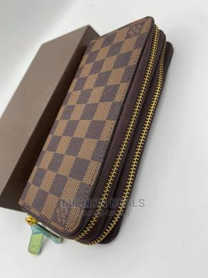 Unisex Luxury Double Zipper Leather Wallet | Bags for sale in Lagos State, Ikorodu