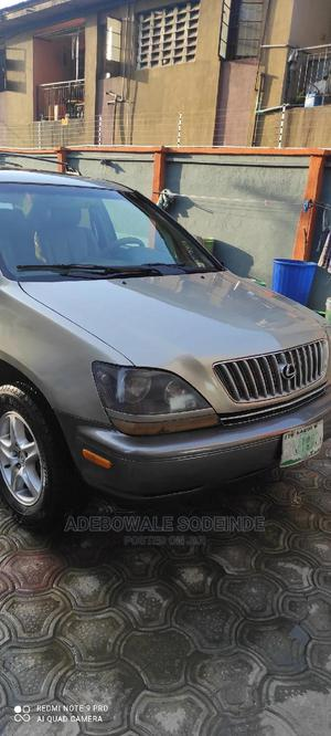 Lexus RX 2002 Gold | Cars for sale in Lagos State, Surulere
