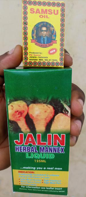 Original Samsu Oil And Jalin Jerbal Mannex   Sexual Wellness for sale in Oyo State, Ibadan