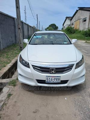 Honda Accord 2012 Coupe EX-L V-6 Automatic White | Cars for sale in Lagos State, Alimosho