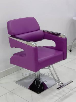 Purple Salon Chair | Salon Equipment for sale in Abuja (FCT) State, Gwarinpa