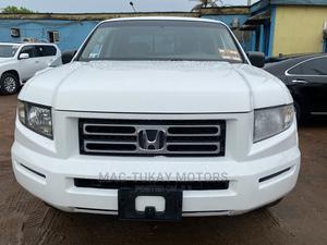 Honda Ridgeline 2006 White | Cars for sale in Lagos State, Ikeja