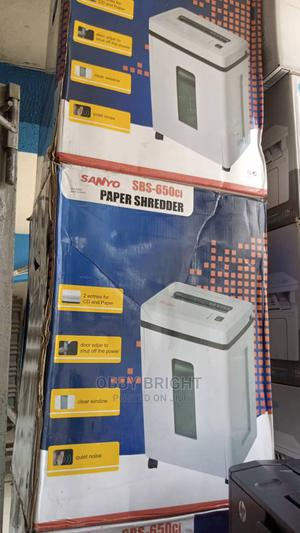 Sanyo Sbs-650cl Paper Shredder | Stationery for sale in Lagos State, Ojo