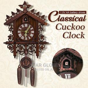 Black Forest Wooden Vintage Nordic Style Cuckoo Wall Clock | Home Accessories for sale in Lagos State, Victoria Island