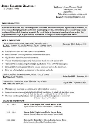 Office Cashier | Accounting & Finance CVs for sale in Lagos State, Surulere