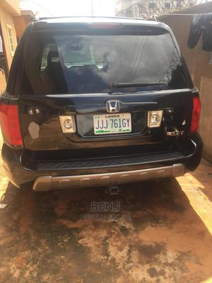 Honda Pilot 2004 EX 4x4 (3.5L 6cyl 5A) Black   Cars for sale in Delta State, Oshimili South