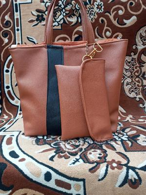 Brown Handbag With Purse   Bags for sale in Lagos State, Ogba