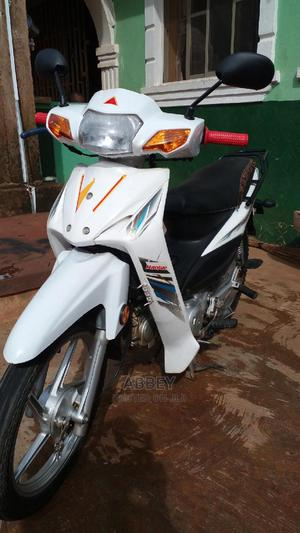 Haojue UD110 HJ110-6 2019 White | Motorcycles & Scooters for sale in Osun State, Ilesa