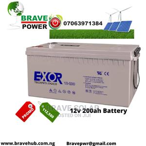 200ah Battery   Solar Energy for sale in Lagos State, Surulere