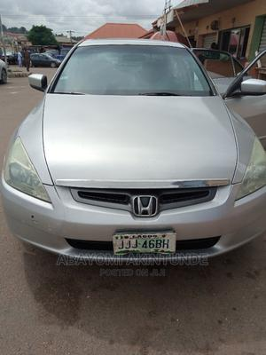 Honda Accord 2005 2.4 Type S Silver | Cars for sale in Lagos State, Lekki