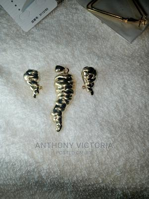 Italian Pendant With Earrings | Jewelry for sale in Lagos State, Ojo