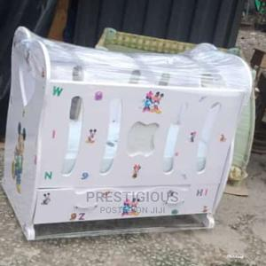 White Baby Cot | Children's Furniture for sale in Lagos State, Ojodu