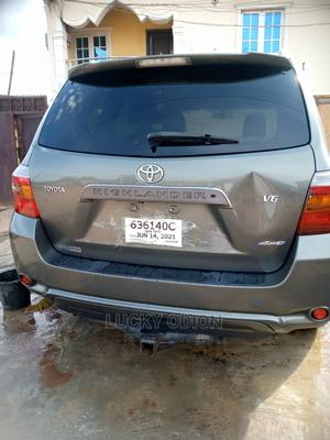 Toyota Highlander 2008 Sport Gray   Cars for sale in Lagos State, Abule Egba