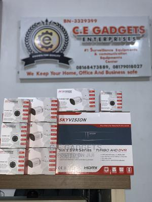 8 Channels DVR + 4 Outdoor + 4 Indoors CCTV 1080 Cameras | Security & Surveillance for sale in Lagos State, Ojo
