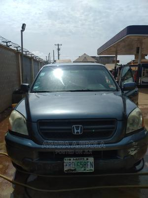 Honda Pilot 2004 LX 4x4 (3.5L 6cyl 5A) Blue | Cars for sale in Lagos State, Ikorodu