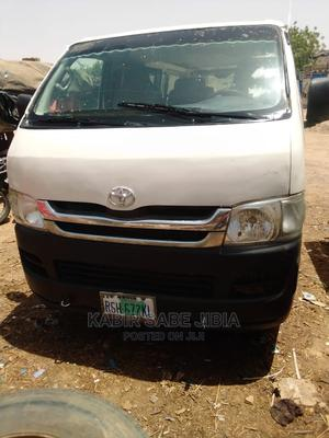 A Well Maintained Nigerian Used Toyota Hiace 2012 White for Sale | Buses & Microbuses for sale in Katsina State, Katsina