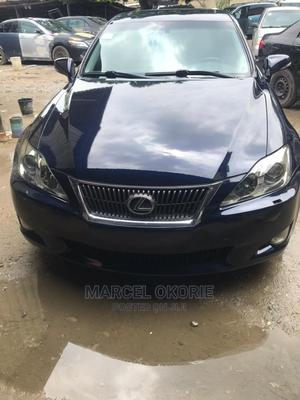 Lexus IS 2010 250 AWD Automatic Blue | Cars for sale in Lagos State, Oshodi